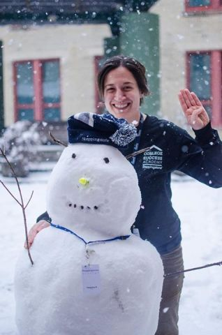 Even snowmen can say the Steppingstone oath