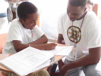 Each summer, older Scholars come back to mentor younger students