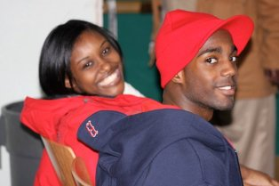 2010 - Alumni share their college experiences with younger Scholars