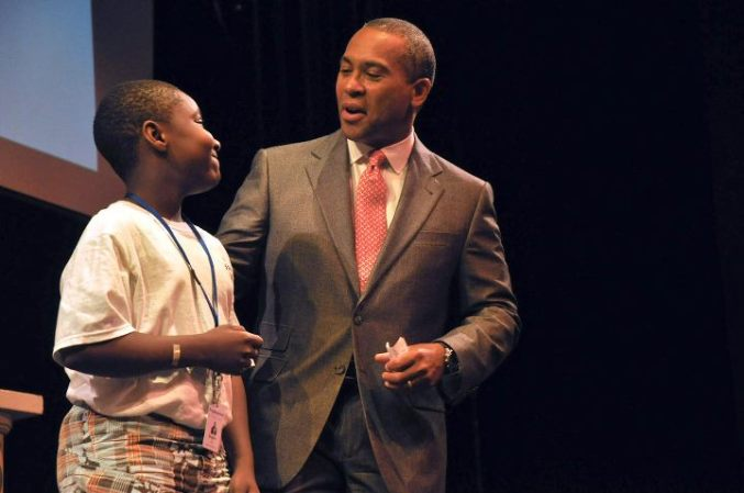 2011 - Governor Patrick visits Steppingstone