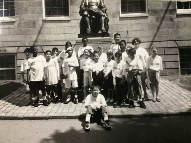1996 - Scholars tour Harvard College
